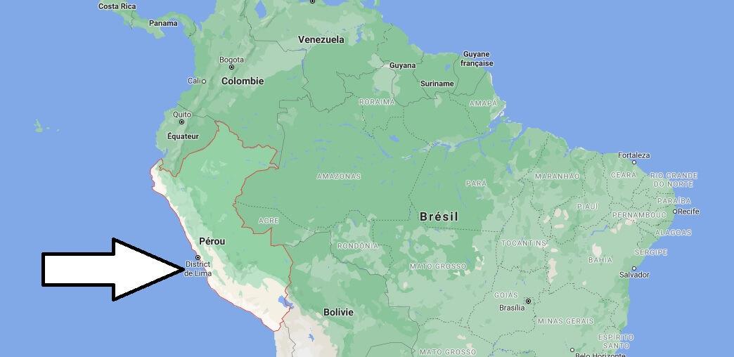 Où se situe Pérou