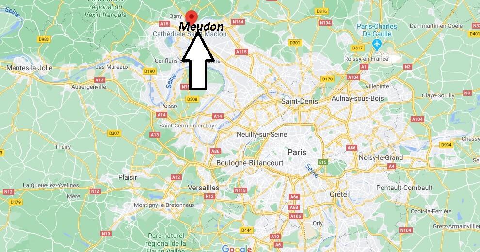 Où se situe Pontoise (Code postal 95500)