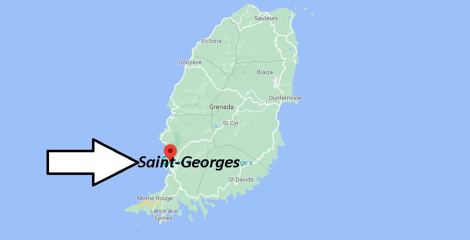 Où se situe Saint-Georges