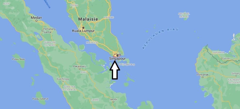 Où se situe Singapour