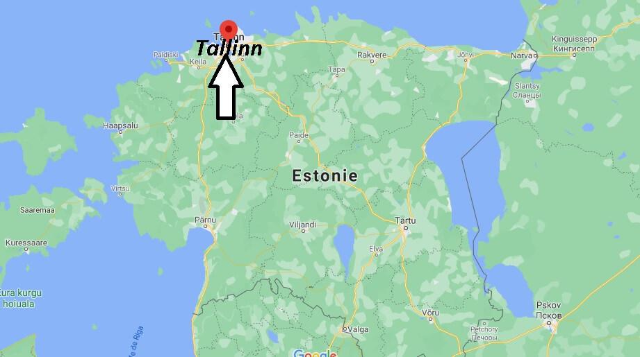 Où se situe Tallinn