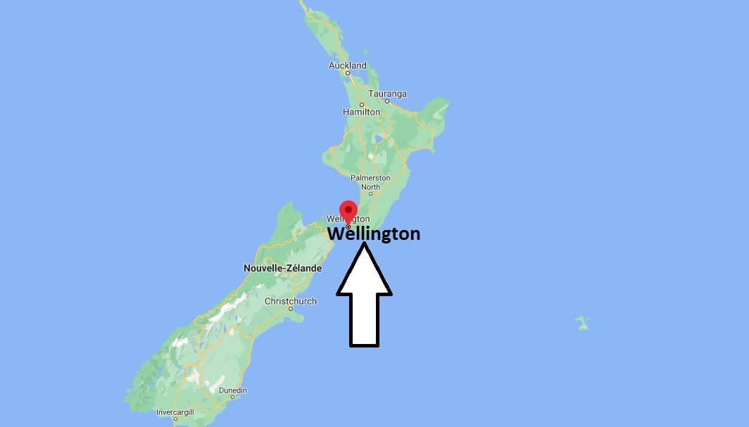 Où se situe Wellington