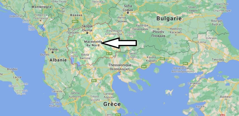 Où se situe la Macédoine