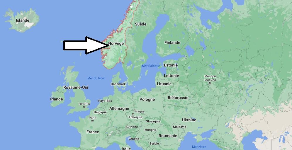 Où se situe la Norvège