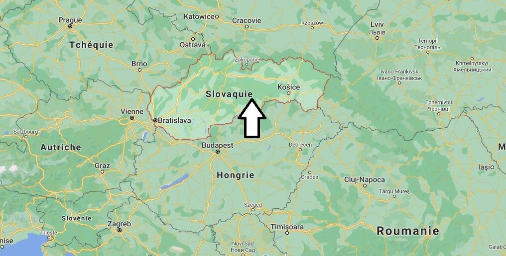 Où se situe la Slovaquie