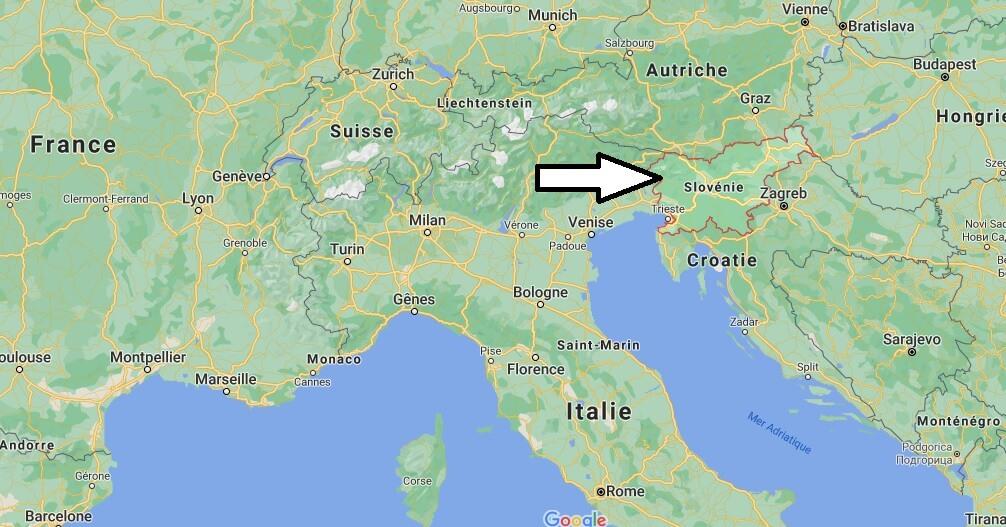 Où se situe la Slovénie