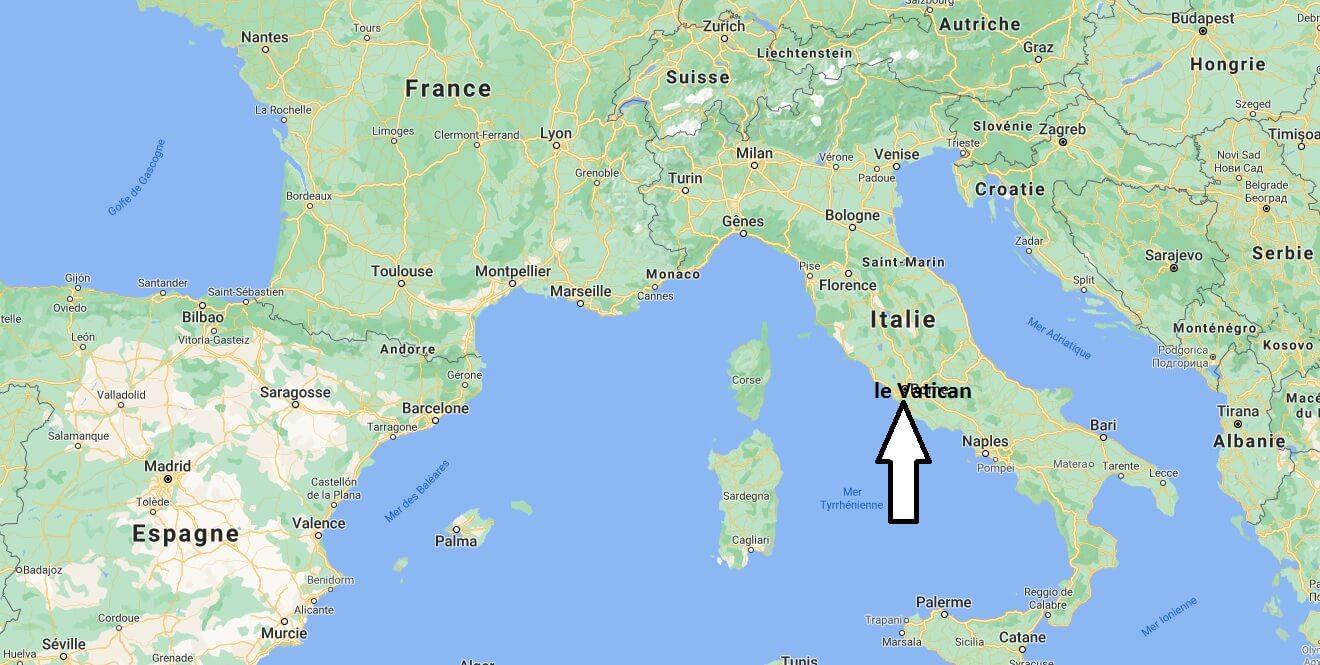 Où se situe le Vatican