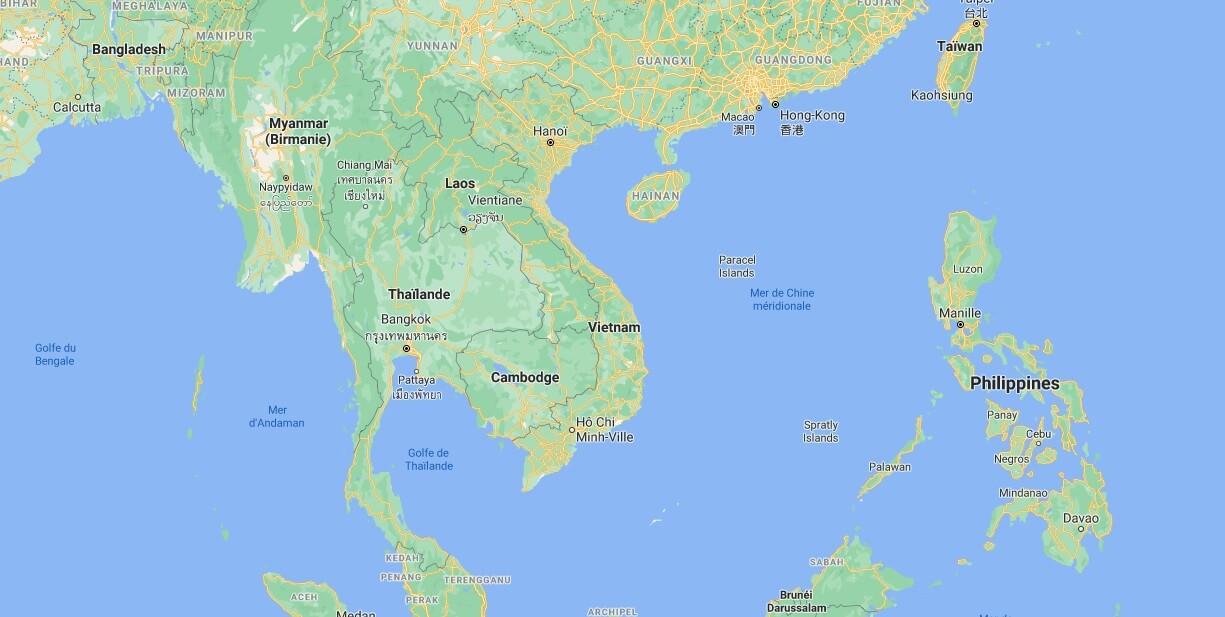 Où se situe le Vietnam