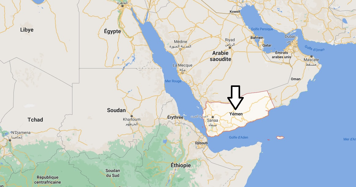 Où se situe le Yémen