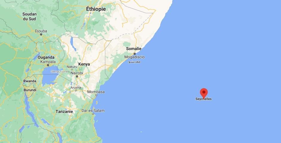 Où se situe les Seychelles