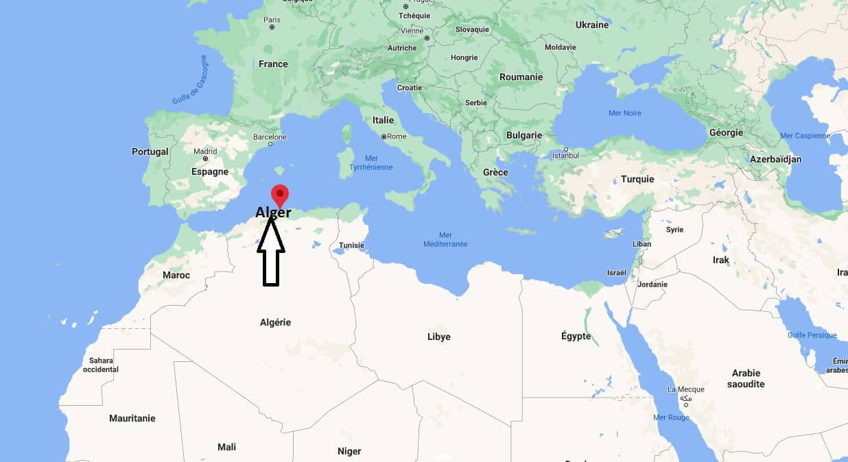 Où se trouve Alger