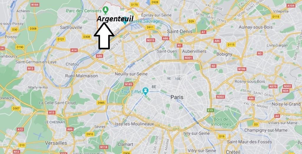 Où se trouve Argenteuil