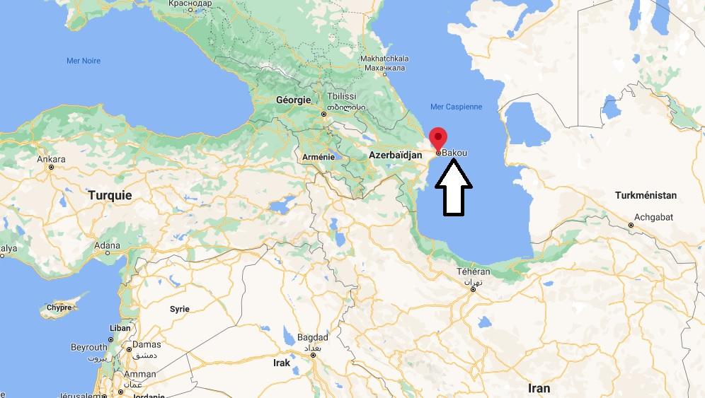 Où se trouve Bakou
