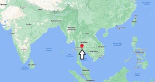 Où se trouve Bangkok