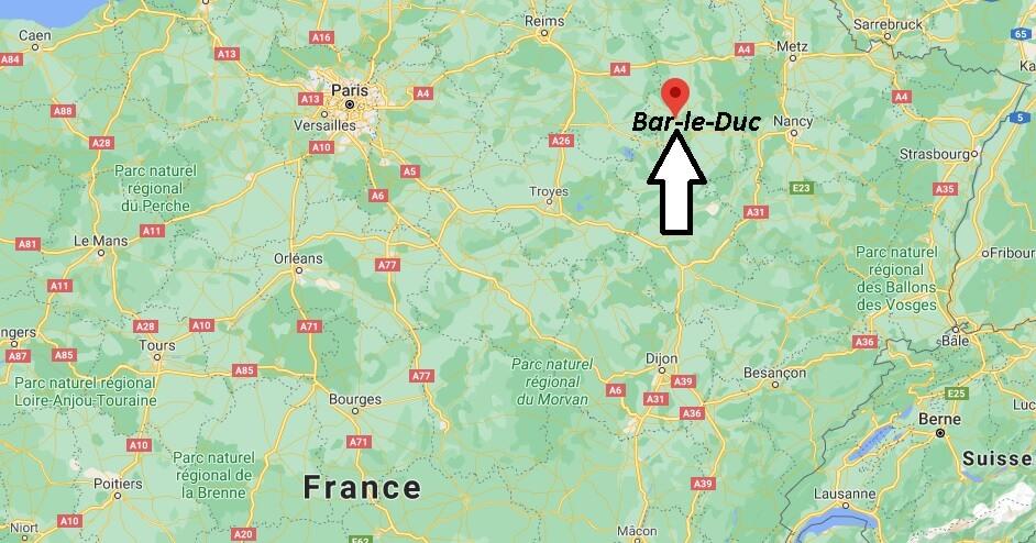 Où se trouve Bar-le-Duc