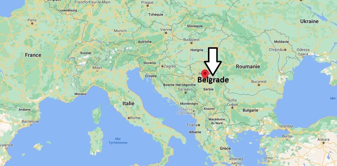 Où se trouve Belgrade