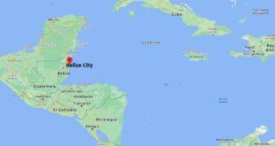 Où se trouve Belize City