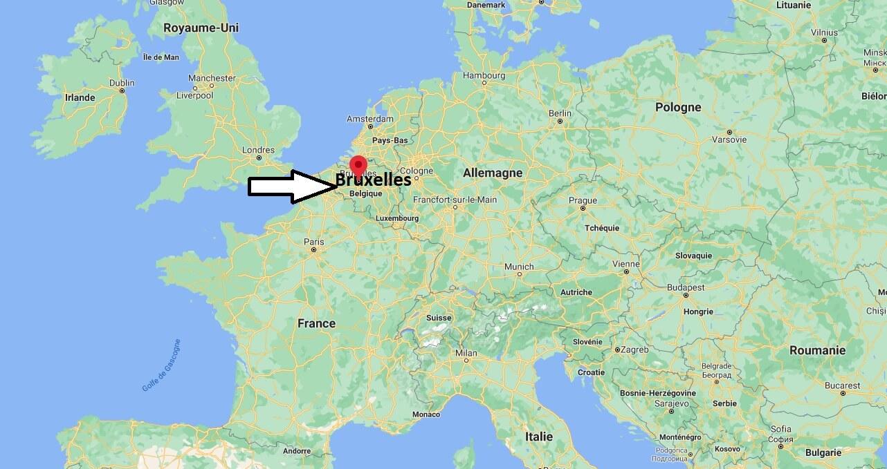 Où se trouve Bruxelles
