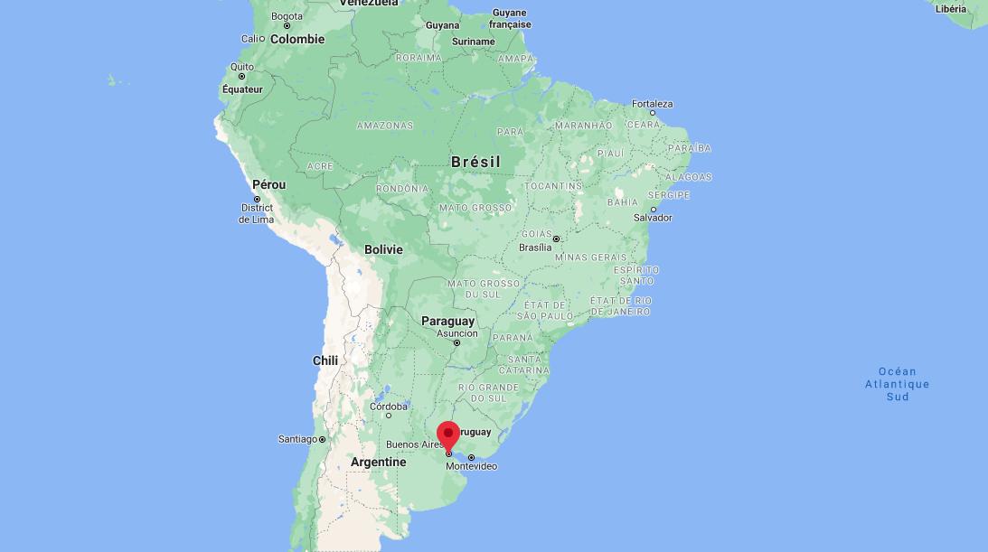 Où se trouve Buenos Aires