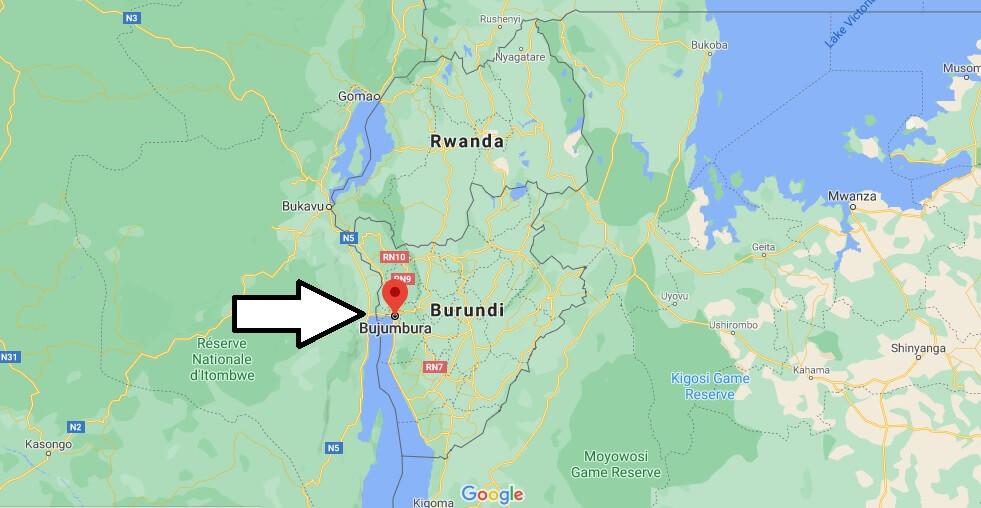 Où se trouve Bujumbura