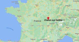 Où se trouve Chalon-sur-Saône