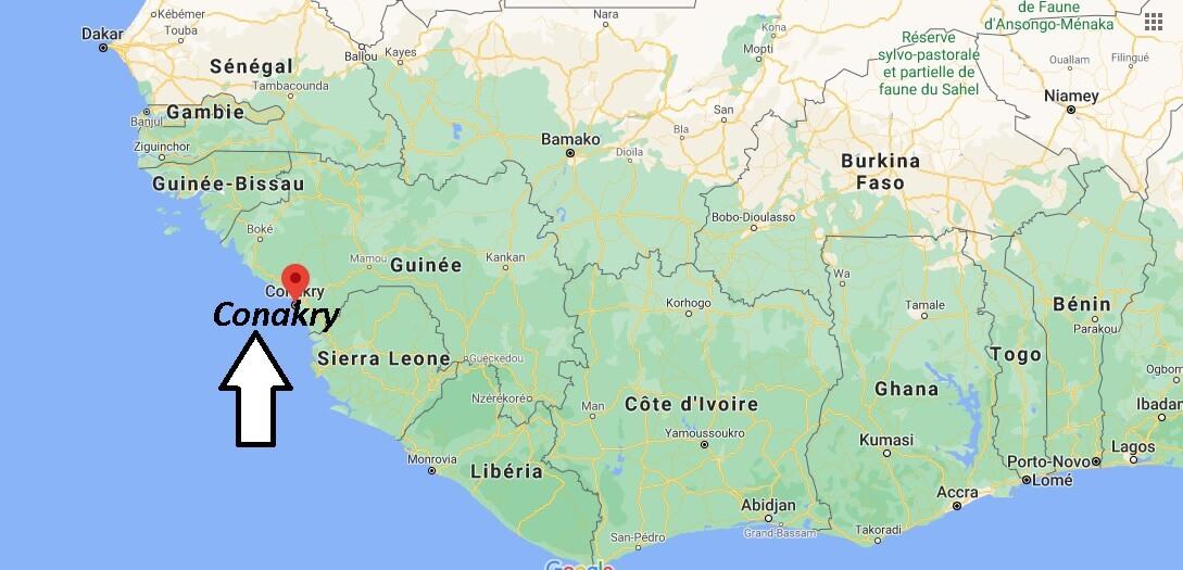 Où se trouve Conakry
