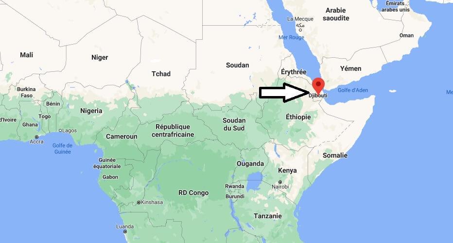 Où se trouve Djibouti