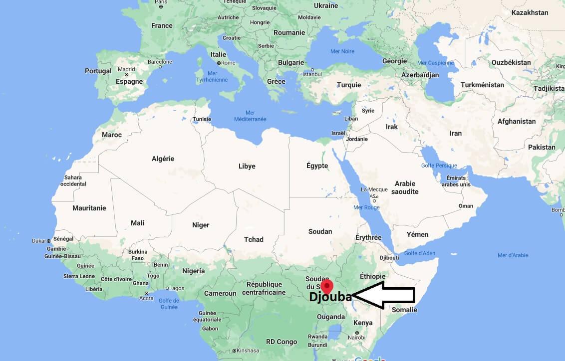 Où se trouve Djouba