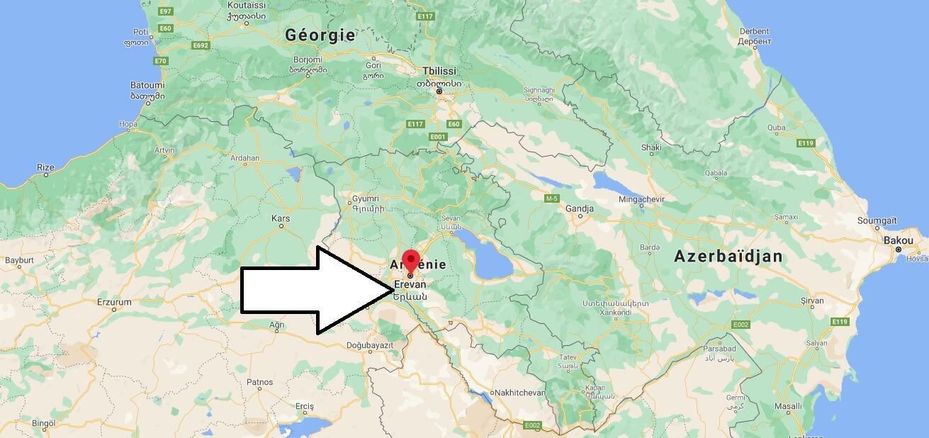 Où se trouve Erevan