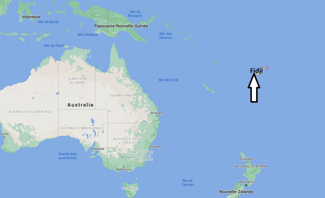 Où se trouve Fidji