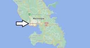 Où se trouve Fort-de-France