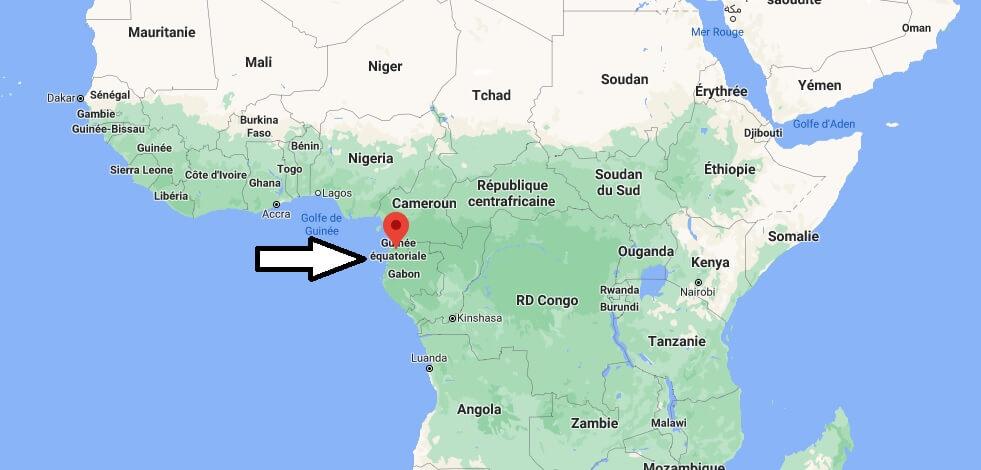 Où se trouve Guinée équatoriale