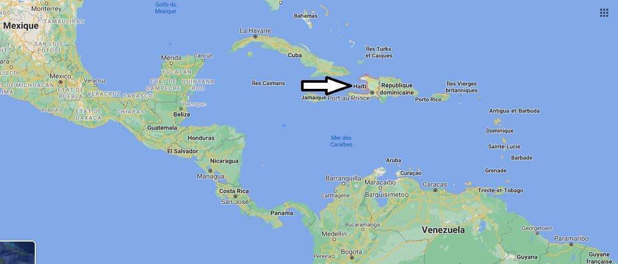 Où se trouve Haiti