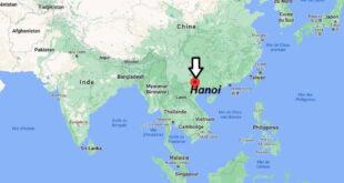 Où se trouve Hanoi
