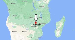 Où se trouve Harare