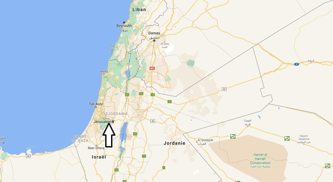 Où se trouve Jérusalem