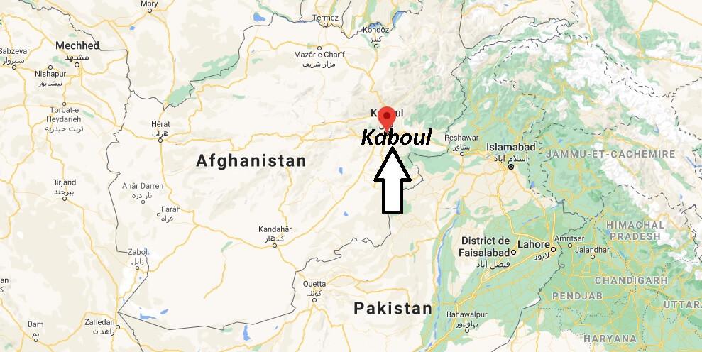Où se trouve Kaboul