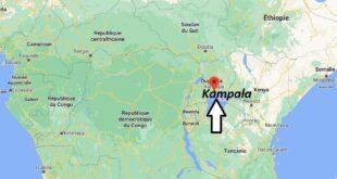 Où se trouve Kampala