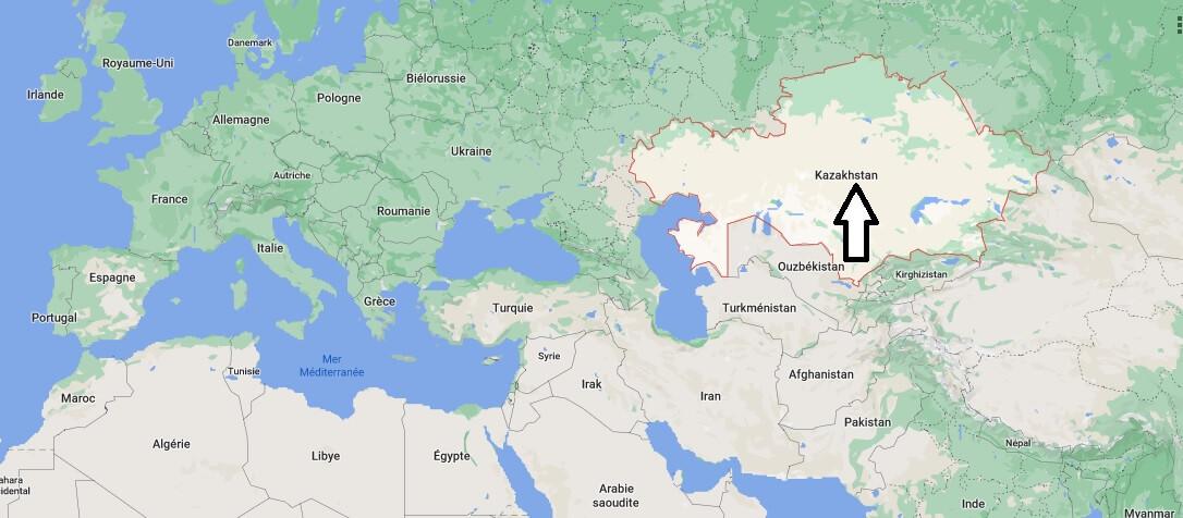 Où se trouve Kazakhstan