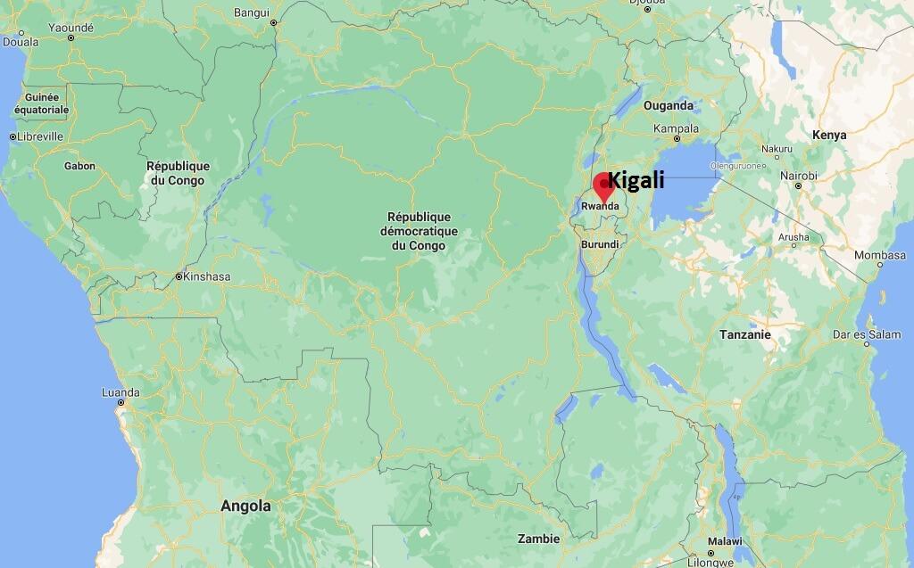 Où se trouve Kigali
