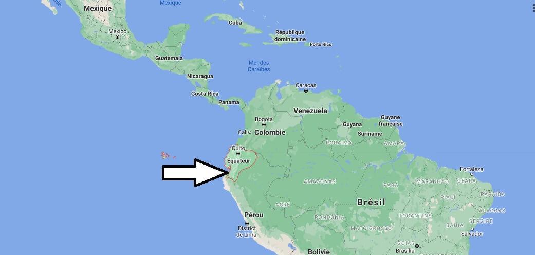 Où se trouve L-équateur