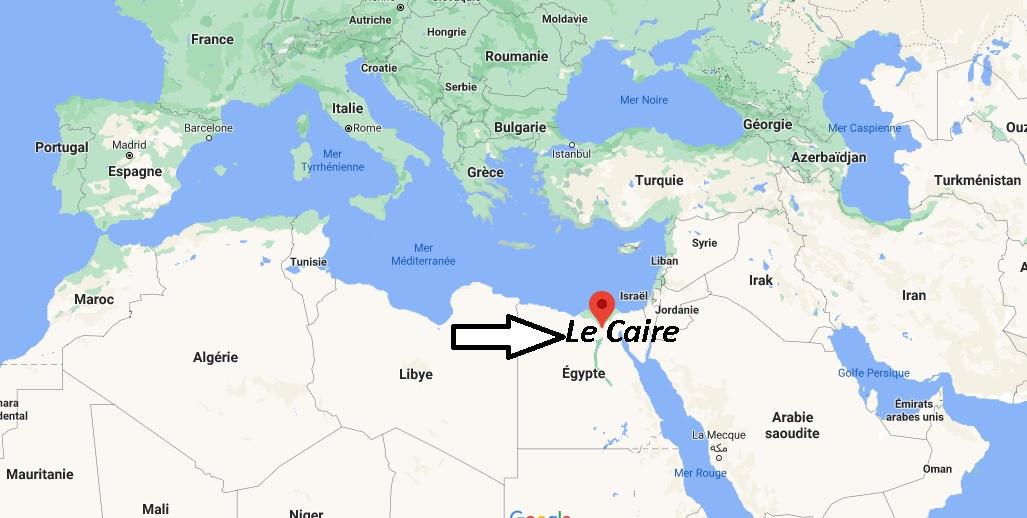 Où se trouve Le Caire