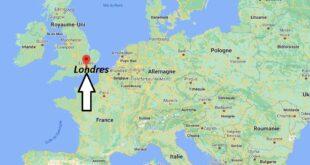Où se trouve Londres