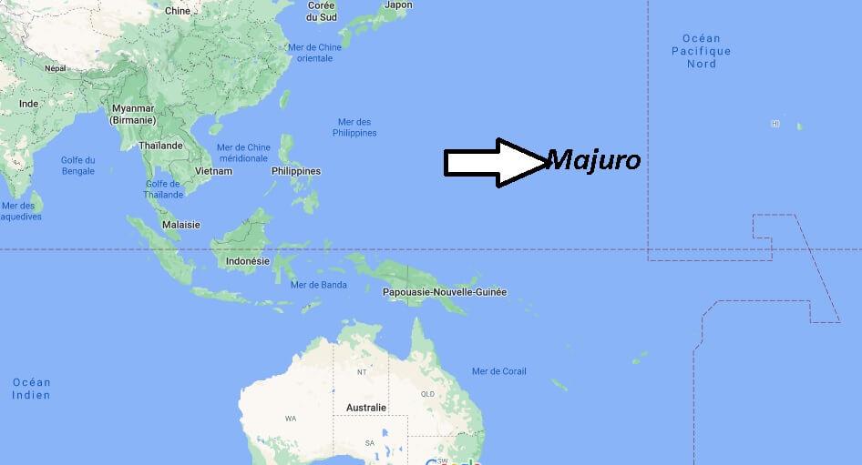 Où se trouve Majuro