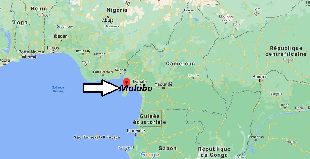Où se trouve Malabo