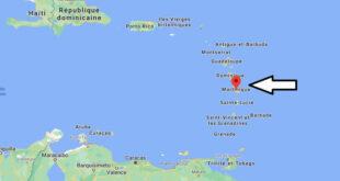 Où se trouve Martinique