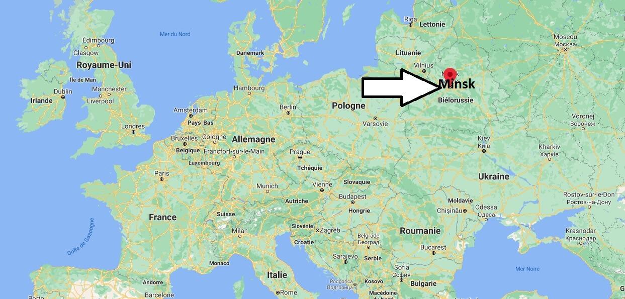 Où se trouve Minsk