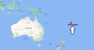 Où se trouve Nukualofa