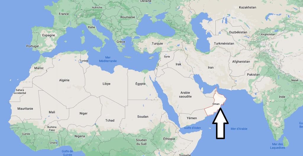 Où se trouve Oman