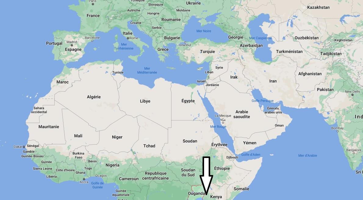 Où se trouve Ouganda